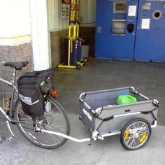 Croozer Designs Cargo Trunk Bicycle Trailer