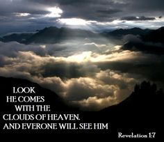 Rev. 1:7 Our King Yahshua the son of our mighty Elohim Yahweh will come again soon. Let us pursue readiness everyday!