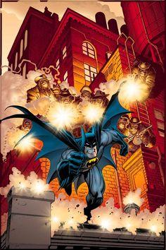 Batman Annual #23 art by Arthur Adams