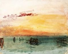 William Turner - Venice, seen by Fusina