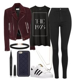 """""""Untitled#1357"""" by mihai-theodora ❤ liked on Polyvore featuring Balenciaga, Topshop, adidas, Tory Burch, Marc Jacobs, Michael Kors, women's clothing, women, female and woman"""