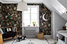 The Nordroom - A Stylish Scandinavian Home with Cozy Nooks Cozy Bedroom, Kids Bedroom, Kid Spaces, Living Spaces, Scandinavian Kids, Cozy Nook, Love Home, Kidsroom, Cozy House