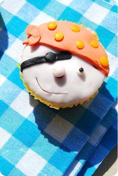 / / Cupcakes / / Vanille / / Pirates / /
