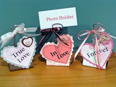 Valentine Binder Clips by saved by grace - Cards and Paper Crafts at Splitcoaststampers