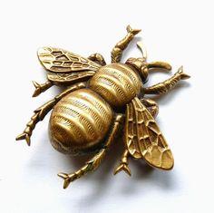 Antique bee jewelry