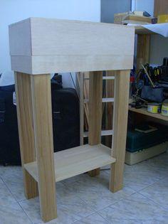 El Taller del Burro: DIY - Mueble para acuario de 51X26