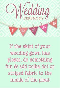 DOWNLOAD THE PDF – 101 Wedding Ceremony Ideas