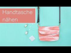 Nähanleitung: Einfache Handtasche nähen | Kostenloses Schnittmuster | - YouTube