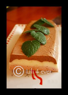 The tricolour mini cheesecake