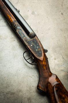 woodburning:  A Westley Richards .600NE Sidelock.