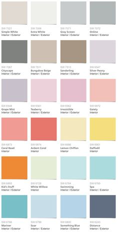 Kids Room Paint Schemes Pottery Barn Ideas For 2019 Pottery Barn Paint Colors, Playroom Paint Colors, Kids Bedroom Paint, Bedroom Paint Colors, Paint Colors For Living Room, Pottery Painting, Pottery Barn Bathroom, Pottery Barn Kids, Downstairs Bathroom