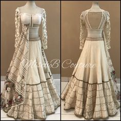 A fine layer, lehenga by MischB Couture