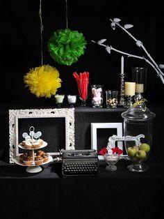mesa de dulces para boda by vitamina d*, via Flickr