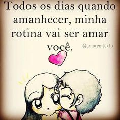 Sou definitivamente apaixonado❤️ por VC ❤ Amor da minha vida ❤️ Dating Humor, Dating Quotes, Sad Quotes, Love Quotes, I Love You, My Love, Budget Template, Romance, Words