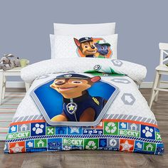 Fantastic bedspread solutions for your kids from Target! Consists of: 1 x Quilt Cover Set 1 x Pillowcase (SB) 2 x Pillowcase (DB & QB) 180 Thread Count Paw Patrol Room Decor, Paw Patrol Bedding, Paw Patrol Bedroom, Bedroom Closet Design, Master Bedroom Closet, Kids Bedroom, Modern Bedroom Decor, Bedroom Themes, Bedroom Ideas