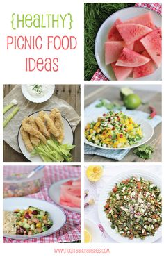 Healthy picnic food ideas: baked chicken fingers, bean salad, quinoa tabbouleh and more! | See the full list: http://www.ricottaandradishes.com/sides-food-and-drink/healthy-picnic-food-ideas-plus-a-mixed-bean-salad-recipe/