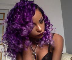 black girl colorful hair - Recherche Google