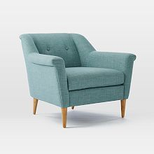 Living Room Accent Chairs & Upholstered Chairs   West Elm
