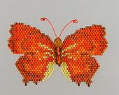 Florida Leafwing Butterfly Pattern and Tutorial