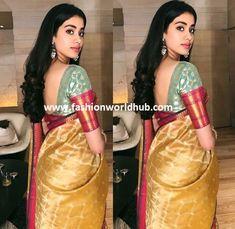 Jhanvi Kapoor in Manish Malhotra saree | Fashionworldhub