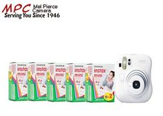 Fuji Instax Mini 25 Plus Case and 5 Twin Packs of Instax Film (100 Images) $167.89