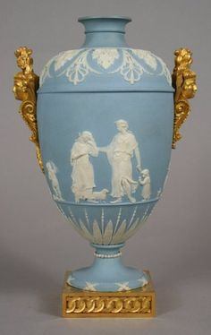 Wedgwood Vase With Louis XVI Ormolu Mounts Probably By Francois Remond And Furnished By Dominique Daguerre - England And France   c. Louis XVI Period