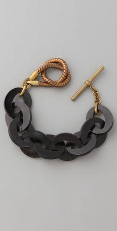 Lulu Frost Horn bracelet