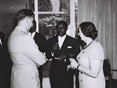 Maurice Yaméogo - Golda Meir 1961 - Burkina Faso - Wikipedia