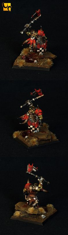 Orcs and Goblins Black Orc Warboss