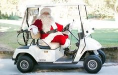 Santa wishing all golfers a Merry Christmas!!!