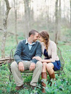 Engagement shoot by Vicki Grafton