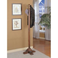 Found it at Wayfair.ca - Woodbury Mahogany Coat Rack