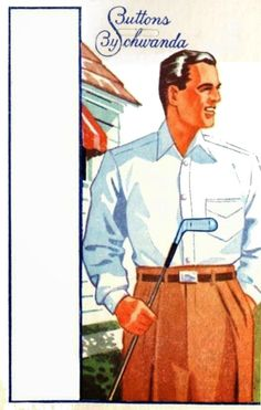 Card for Shirt Buttons