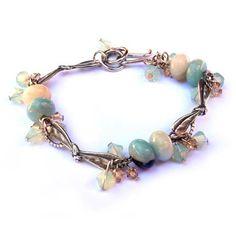 Tutorials   Gemstones Flying Dragonfly Bracelet   Handmade Fashion Jewellery – Devoted to DIY Jewellery