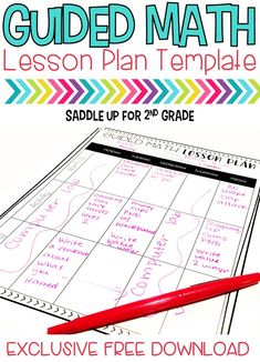 Are you wanting to implement guided math in your classroom? This post includes a full break down of Marcy's schedule. She share ideas for whole group instruction, math stations and centers, FREE lesson plan templates and so much more. Come check it out!