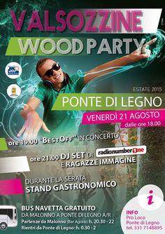 Valsozzine Wood Party a Ponte di Legno http://www.panesalamina.com/2015/40123-valsozzine-wood-party-a-ponte-di-legno.html