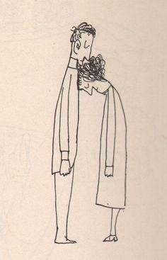 """""""Los estudios de arquitectura son un magnífico entrenamiento para hacer cualquier otra cosa menos arquitectura."""" Saul Steinberg Saul Steinberg (Ramnicul Sarat, Rumanía 1914 – Manh…"""
