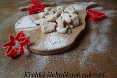 Šlehačkové vánoční cukroví   NejRecept.cz Cookies, Desserts, Food, Crack Crackers, Tailgate Desserts, Deserts, Biscuits, Essen, Postres