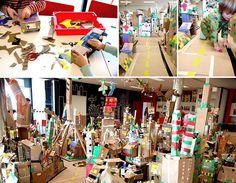버려진 상자로 만드는 나만의 도시