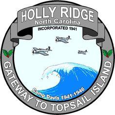 Community of Holly Ridge, North Carolina.  Gateway to Topsail Island!