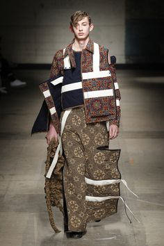 Craig Green | Menswear - Autumn 2017 | Look 21