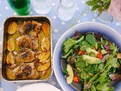 Mum's Lemon & Garlic Chicken