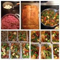 6 Pack Fitness fan Nick Rosende is killing the meal prep game. Lean ground turkey, hard boiled eggs, baked salmon and mixed veggies... DONE and DONE. #TravelFit www.sixpackbags.com