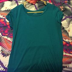 American eagle top Turquoise shirt Tops Tees - Short Sleeve