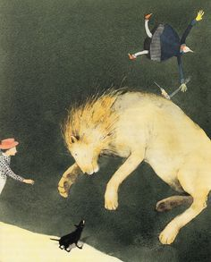 The Wizard of Oz, Reimagined by Beloved Illustrator Lisbeth Zwerger | Brain Pickings