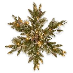 Buy the Glittery Bristle® Pine Snowflake with White Tipped Pine Cones & Warm White LED Lights at Michaels. The Glittery Bristle Pine is a mixed branch decoration with glittered tips for added sparkle. Diy Christmas Fireplace, Diy Christmas Snowflakes, Artificial Christmas Wreaths, Snowflake Wreath, Outdoor Christmas, Christmas Holidays, Merry Christmas, Snowflake Shape, Christmas Gifts
