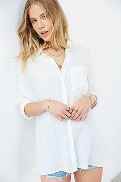 BDG Harper Button-Down Shirt - Urban Outfitters
