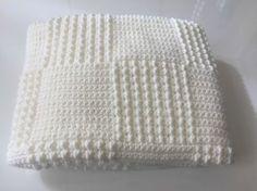 Crochet Blanket Pattern French New Ideas Crochet Squares Afghan, Crochet Granny, Crochet Blanket Patterns, Baby Blanket Crochet, Baby Knitting Patterns, Crochet Baby, Granny Squares, Hat Patterns, Pattern Ideas