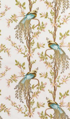 Wallpaper     ....    not usually a wallpaper fan but might consider this on an accent wall in bedroom
