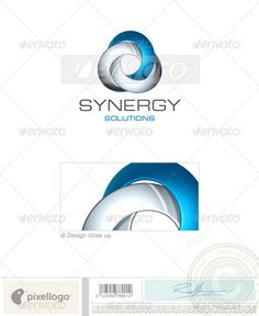 Technology Logo - 3d Abstract #logo #3d #technology #print #design #art #abstract #futuristic #science #industry #synergy #solutions